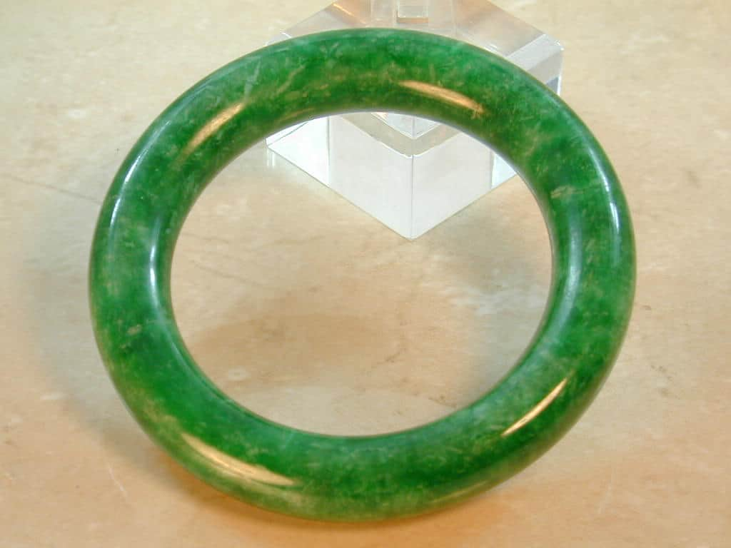 lane vintage color bracelet park even thruout is pin in this genuine jade with parklane