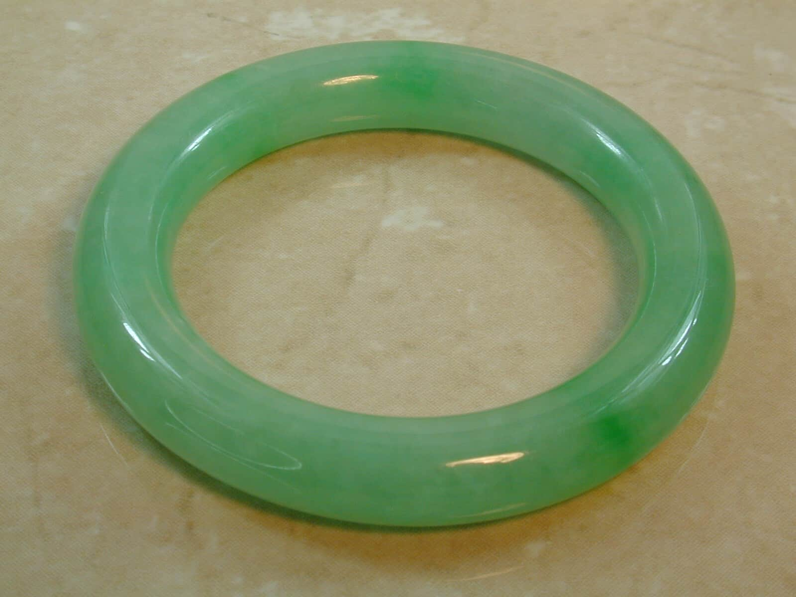 filled jewellery jade bracelet product genuine find jewelry vintage bangles retro gold estate