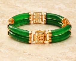 bangle jade natural bracelets round black large genuine bracelet color yu traditional ying collections chinese bangles